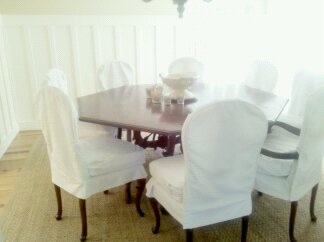 Sonoma County Custom Slipcovers for Chairs