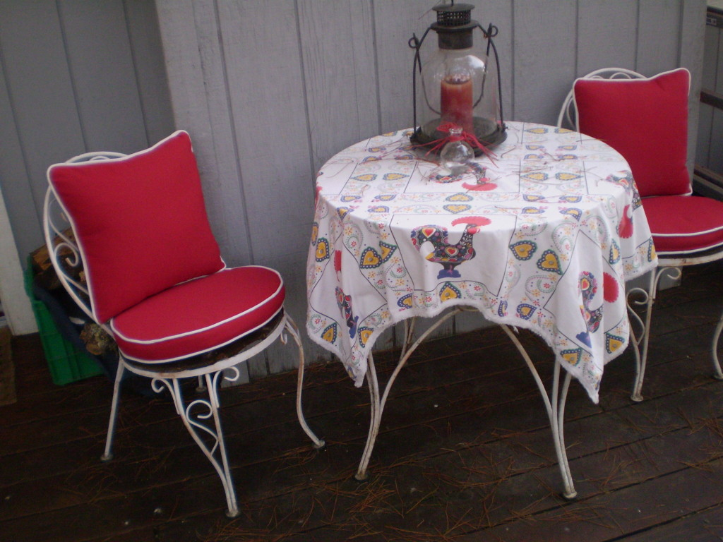 Sonoma County Patio Chair Slipcovers
