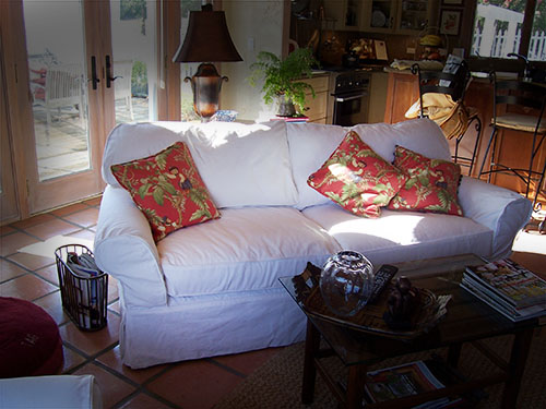 Custom Slipcovers - Sonoma County