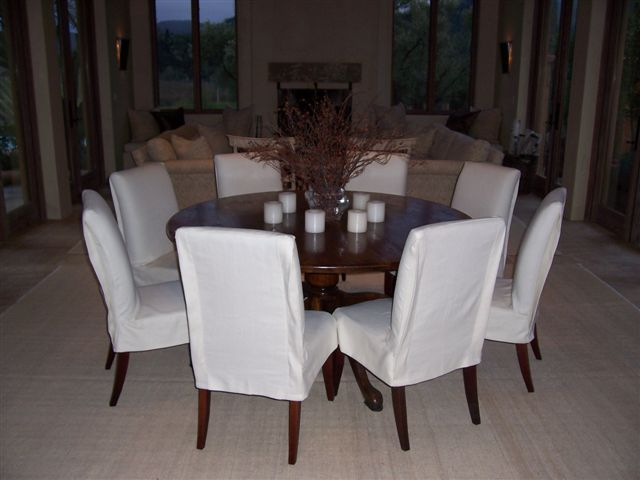 Chair Slipcovers - Sonoma County